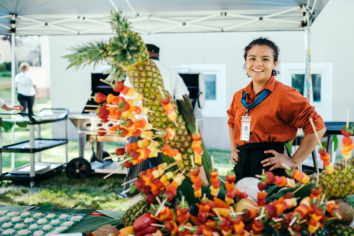 Culinary events and programs focused on regional, national and global cuisines